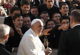 Pope Francis with Legionaries